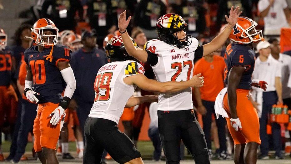Petrino's late FG lifts Maryland over Illinois 20-17