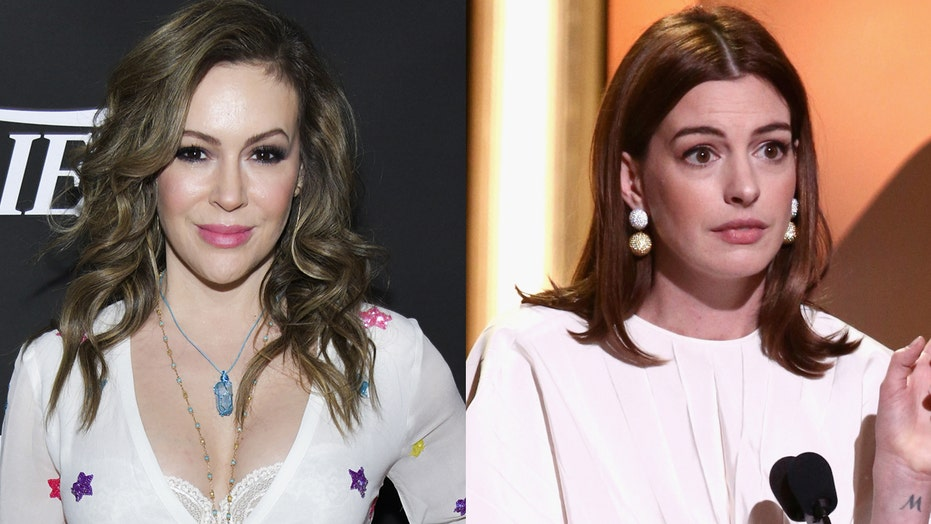 Alyssa Milano, Anne Hathaway among Hollywood stars calling on world leaders to end the COVID-19 pandemic 'now'