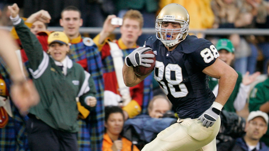 Anthony Fasano, ex-Notre Dame star, talks helping those struggling with addiction, sober tailgates