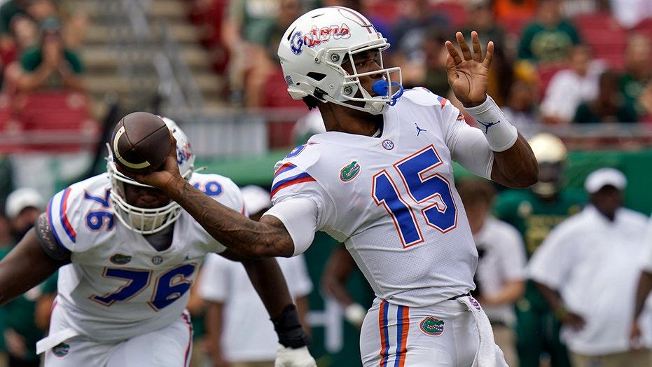 QB debate continues as No. 13 Florida routs USF 42-20