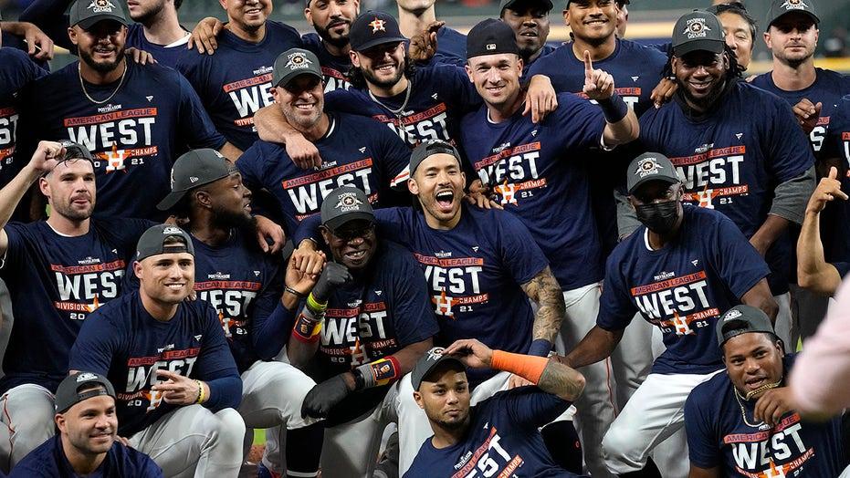 Correa, Astros clinch AL West, open playoffs vs White Sox