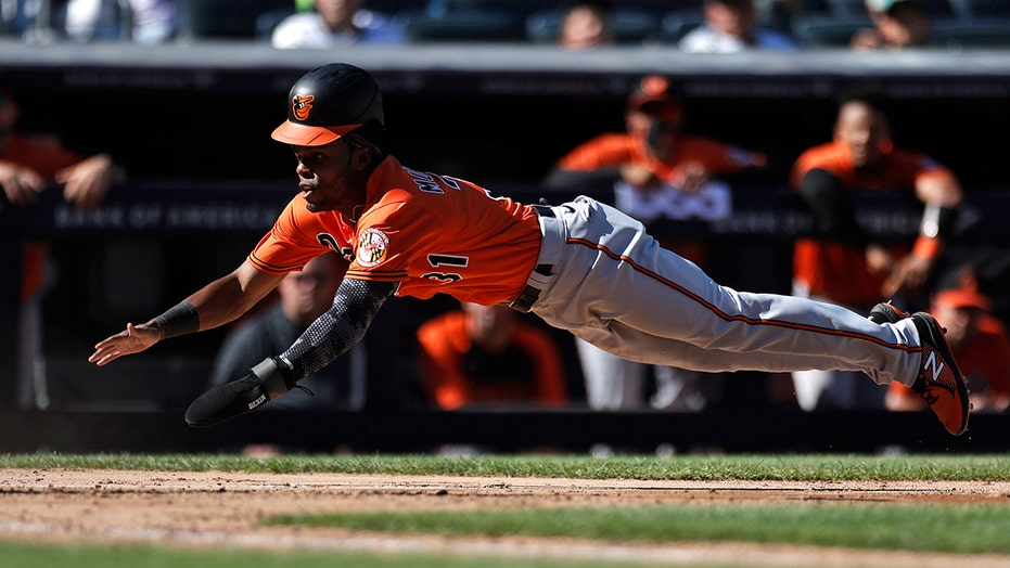 O's rally against Chapman, win after nearly no-hitting Yanks
