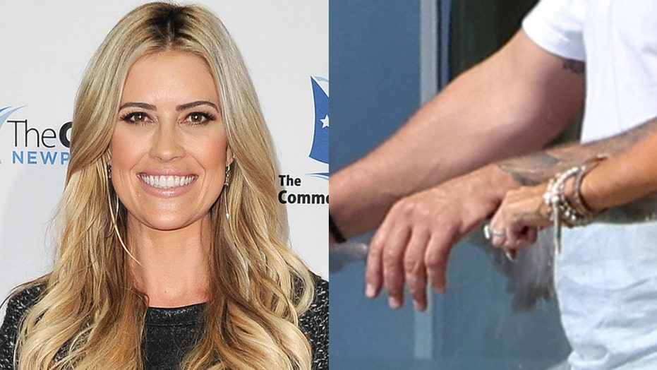 Christina Haack continues to fuel engagement rumors after she's spotted wearing diamond ring