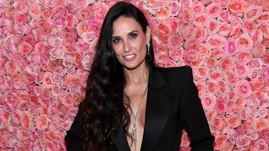 Demi Moore stuns in matching white swimsuits with daughters: Labor Day Weekend 'ready'