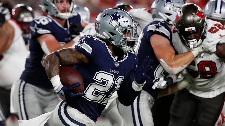 Cowboys' Ezekiel Elliott being underutilized in first half draws ire from NFL fans