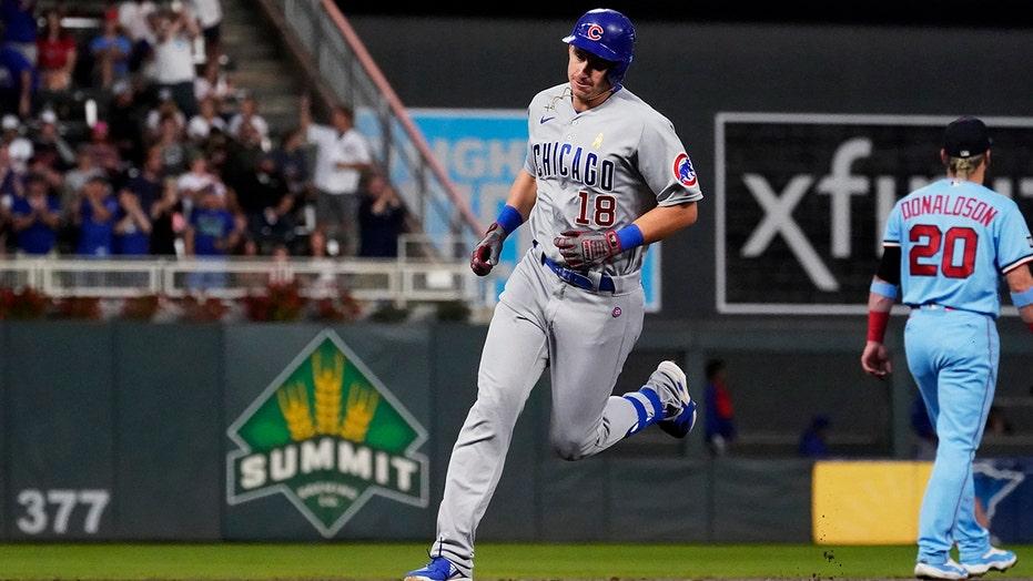 Schwindel homers, Cubs shut down Twins hitters in 3-0 win