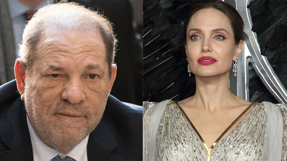 Harvey Weinstein denies Angelina Jolie's accusations: 'There was never an assault'