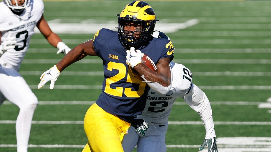 Michigan's Hassan Haskins eager to have fans back in the stadium