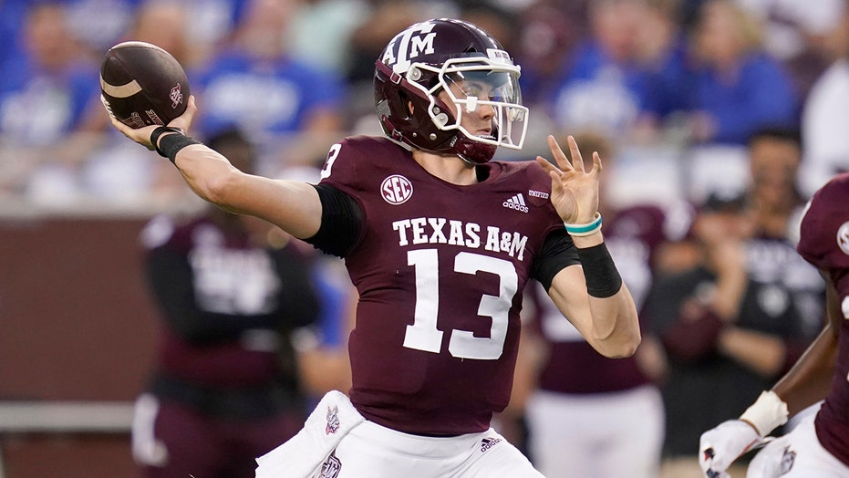 O'Neal has 2 interceptions, No. 6 Texas A&M routs Kent State