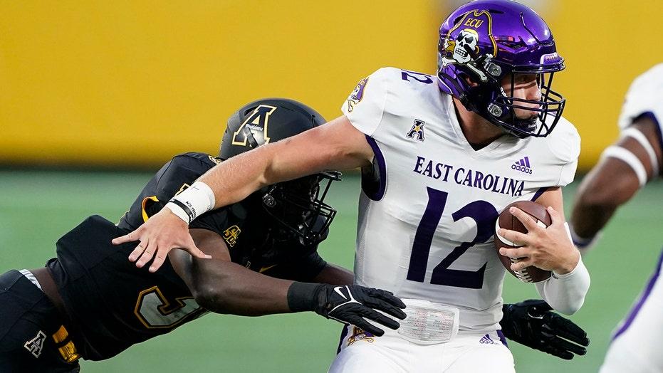 Appalachian State-East Carolina game puts mayo on full display