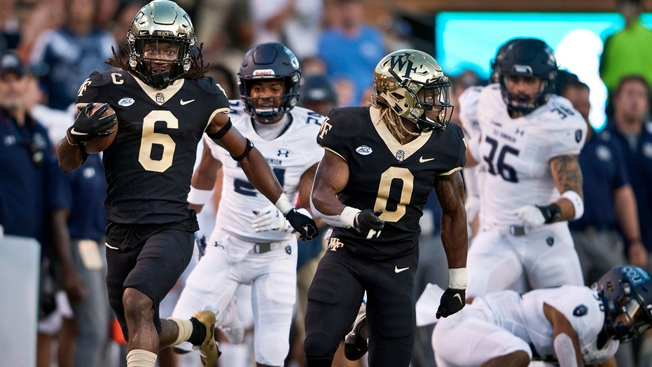 Beal-Smith, Taylor help Wake Forest beat Old Dominion 42-10