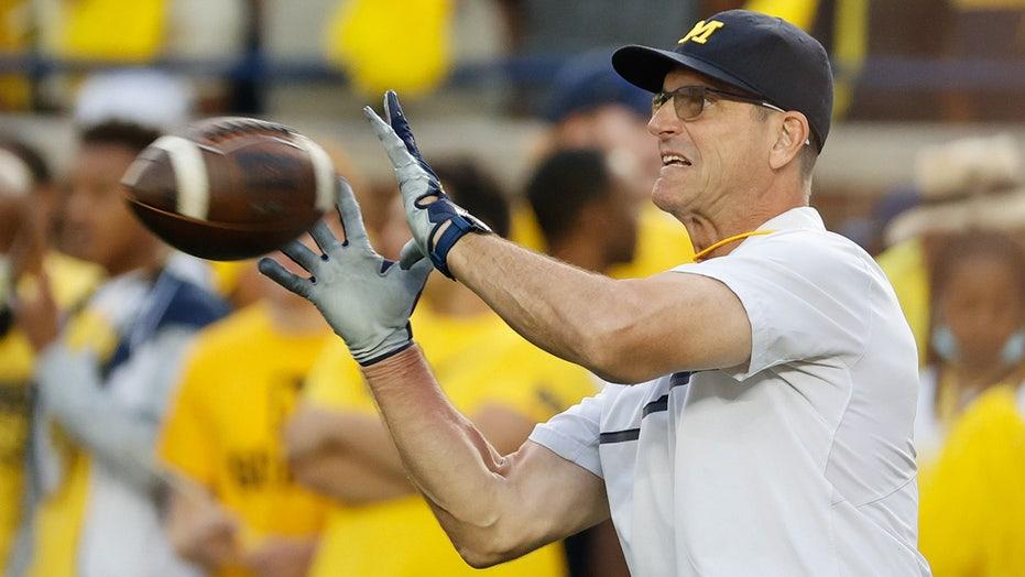 Michigan's Jim Harbaugh not downplaying Rutgers matchup: 'They're playing good football'