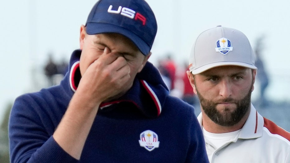 Jordan Spieth astonishingly lips out in latest odd Ryder Cup moment