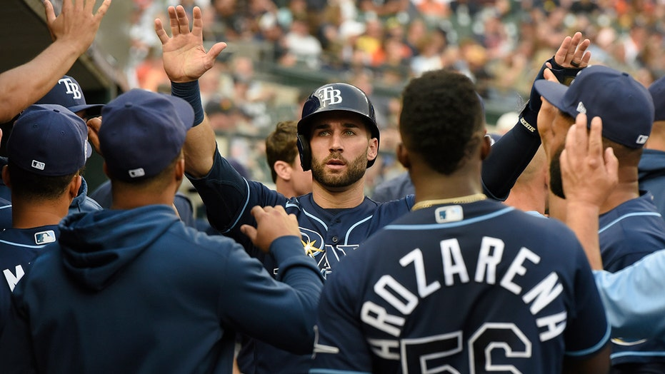 Joey Wendle, Dietrich Enns lead Rays to 7-2 win over Tigers