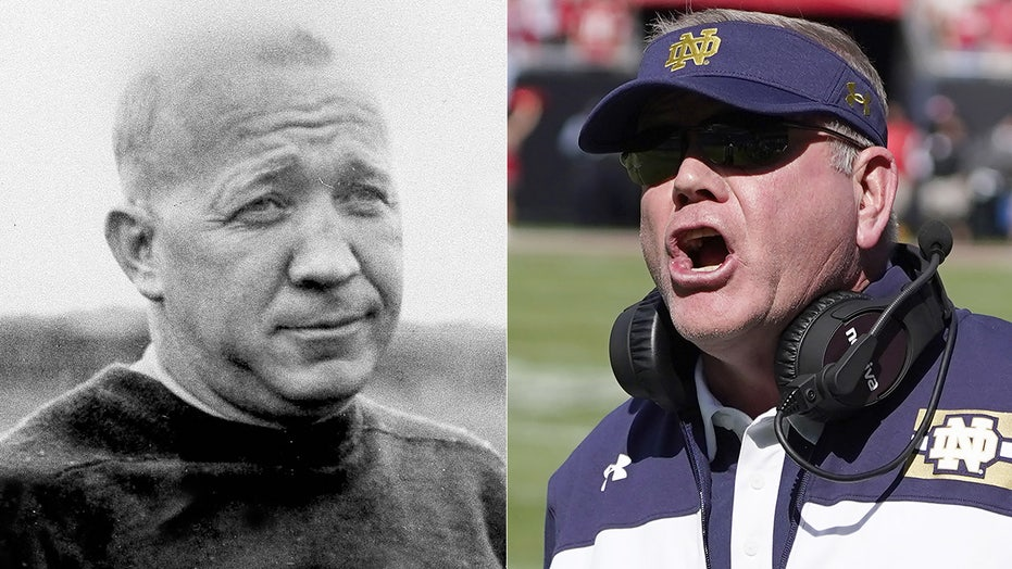 Brian Kelly passes Knute Rockne on Notre Dame's all-time wins list