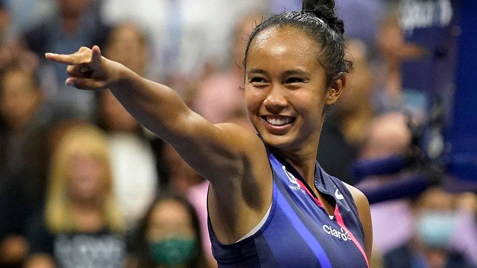 Rising star Leylah Fernandez: 'Teacher told me to stop playing tennis, you'll never make it'