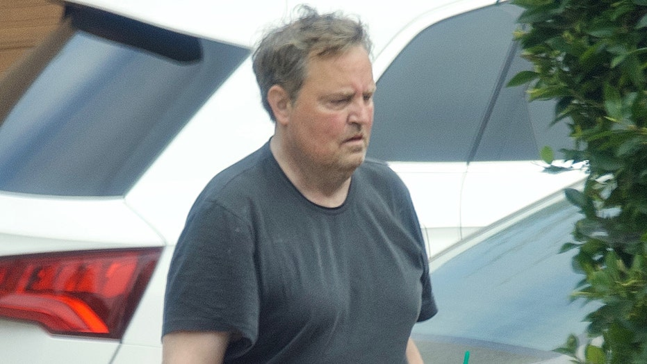 'Friends' Matthew Perry seen in Los Angeles for first time since reunion
