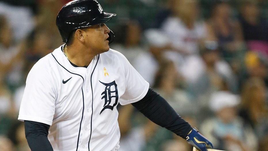 Cabrera hits career homer No. 502, Tigers beat Athletics 8-6