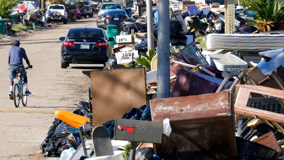 New Orleans' trash problem exacerbated by Nicholas