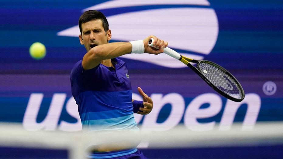 Djokovic tops teen 'Ruuune!' at US Open in calendar Slam bid