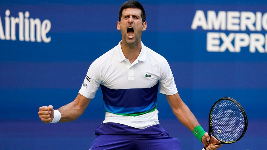 Djokovic lets emotions show at US Open as Grand Slam nears