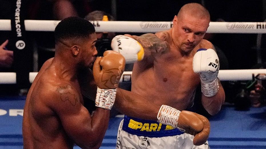 Oleksander Usyk shocks Anthony Joshua to win heavyweight titles