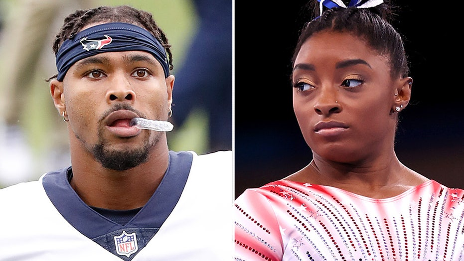 Simone Biles' boyfriend added to Texans' practice squad after being released