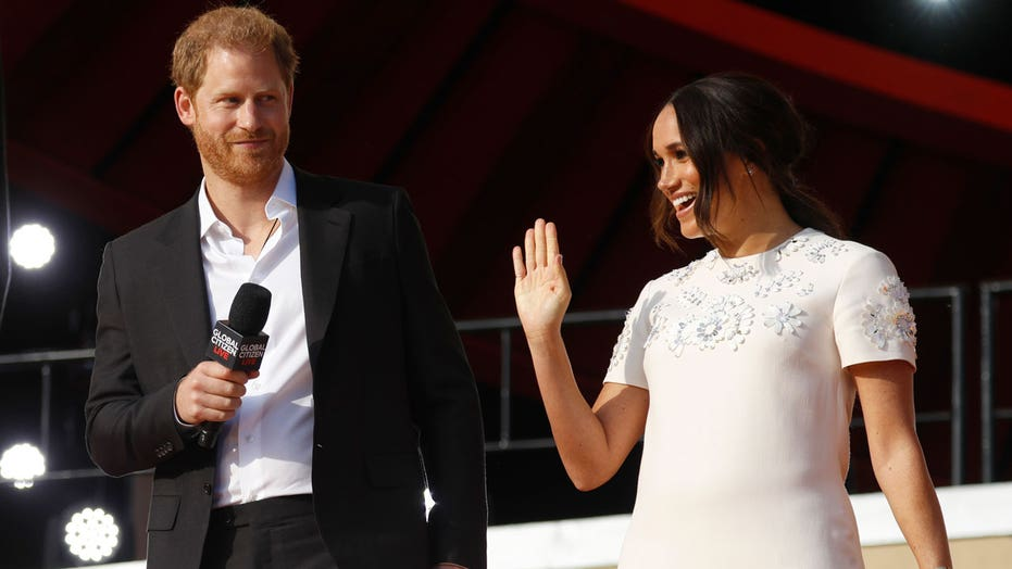Meghan Markle, Prince Harry advocate for vaccine equity during Global Citizen Live appearance