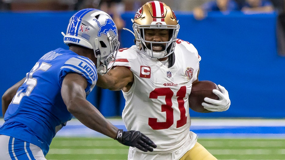 49ers' Raheem Mostert receives hateful messages after suffering injury, wife says