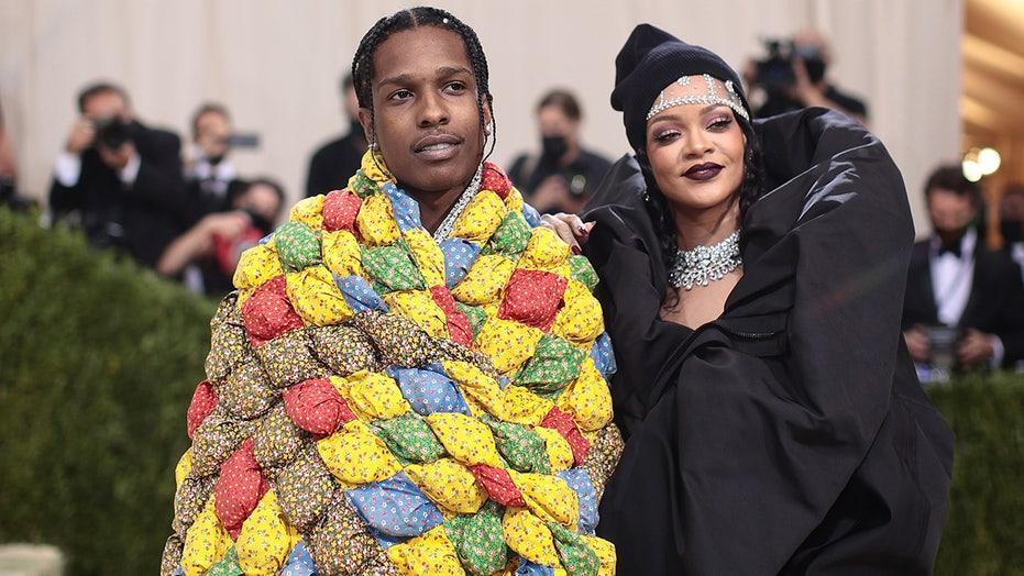 Met Gala 2021: Rihanna, A$AP Rocky make red carpet debut