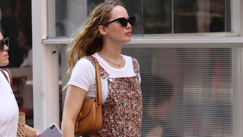Jennifer Lawrence spotted out and about in NYC following pregnancy announcement