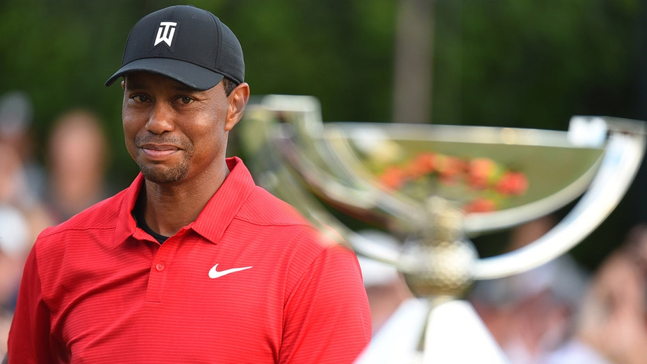 Tiger Woods sends message to golfers before Tour Championship