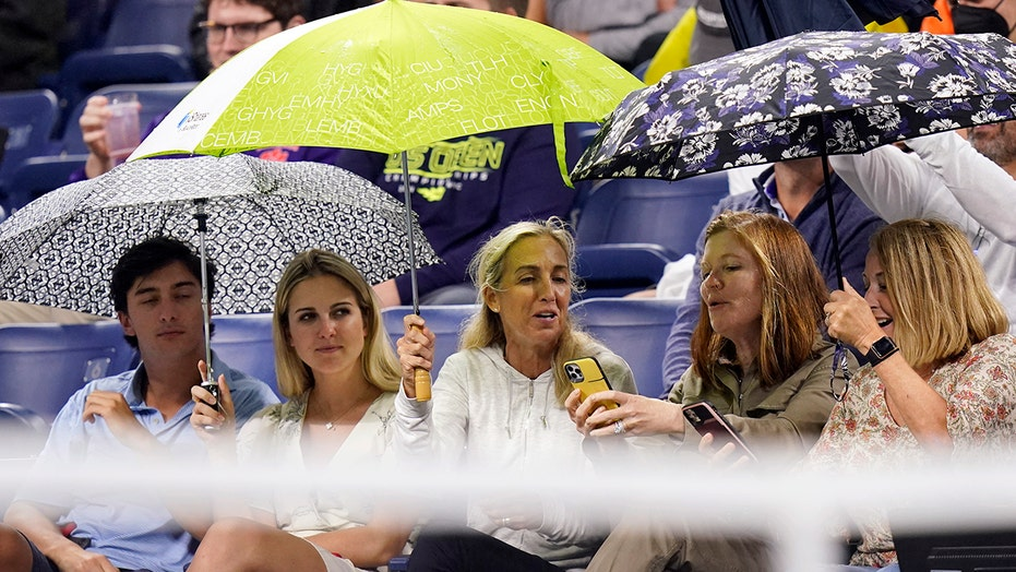 Ida remnants cause 'crazy weather' at US Open