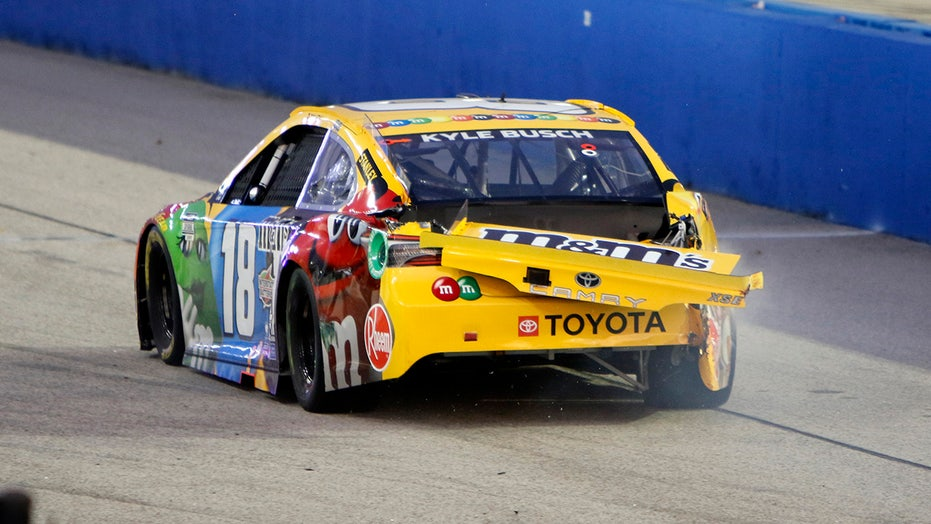 NASCAR: Kyle Busch fined $50,000 for reckless driving at Darlington