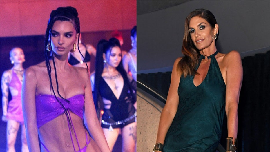 Emily Ratajkowski, Cindy Crawford, Vanessa Hudgens, and more stun in lingerie for Rihanna's Savage runway show