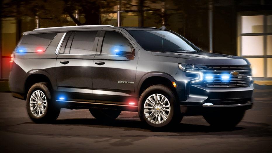 Heavy Duty Chevrolet Suburban in development for the U.S. Government