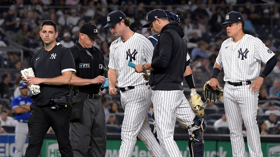 Boone says Yanks ace Cole 'encouraged' about his condition