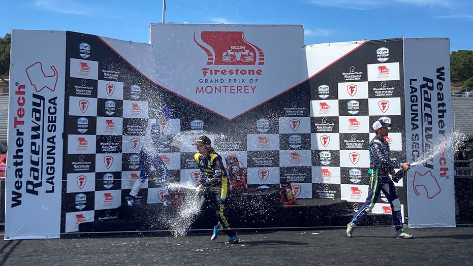 Colton Herta surpasses his father with Monterey Indycar win