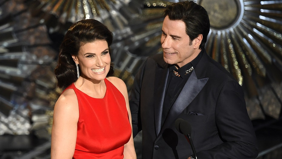 Idina Menzel calls John Travolta's name flub at Oscars 'best thing that ever happened'