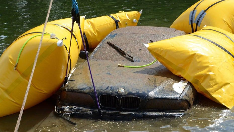 North Carolina fisherman finds stolen BMW in lake