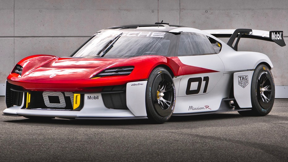 The Porsche Mission R Concept is the electric track car of the future