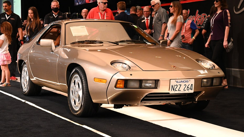 Tom Cruise's 'Risky Business' Porsche sold for record $2 million