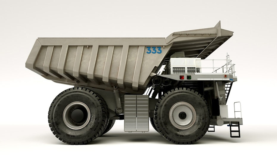 Rolls-Royce reveals giant hybrid mining truck concept