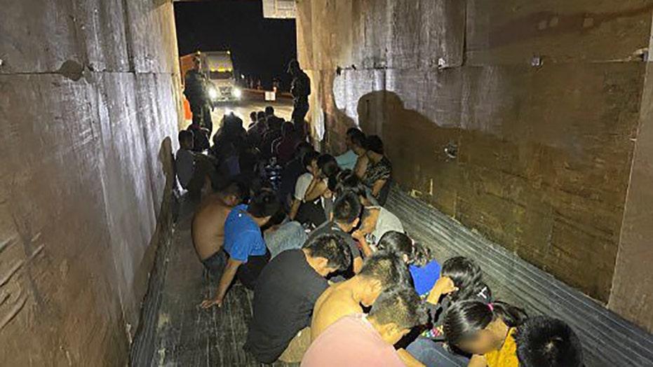 Border Patrol in Texas discovers 49 undocumented migrants hidden in tractor-trailer