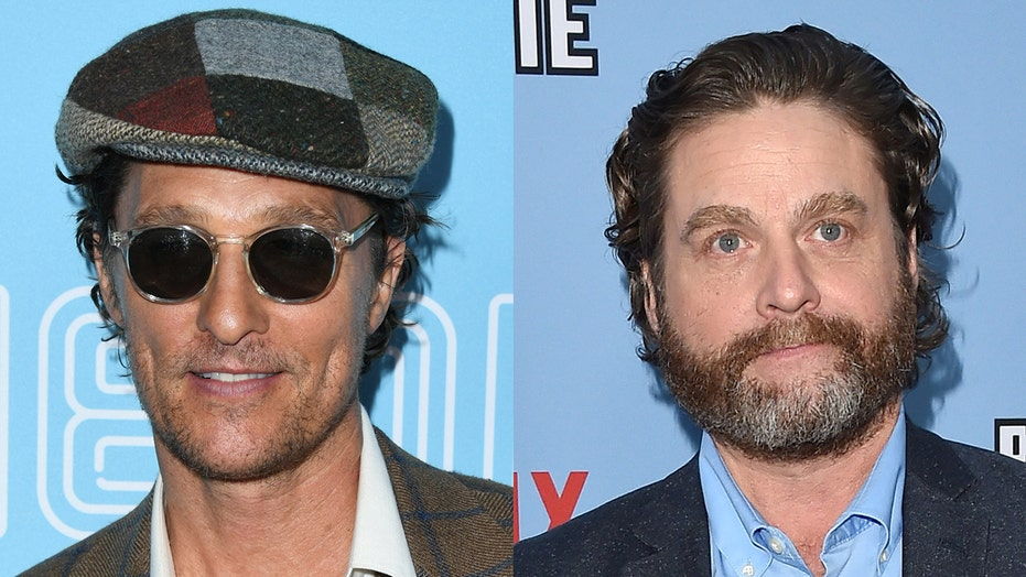 Matthew McConaughey can't stop laughing as he reshares outtake from Zach Galifianakis' 'Between Two Ferns'