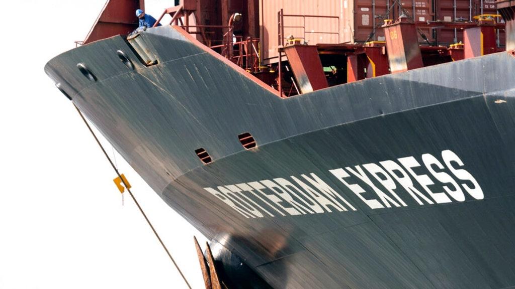 Cargo ship near ruptured Calif. pipeline made strange movements: report