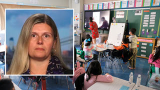 New Jersey teacher says her stomach was 'churning' following union demand to log students' vaccination status