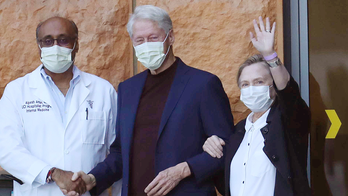 Bill Clinton back in New York after brief hospital stay in California