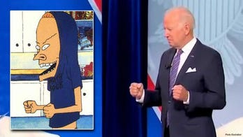 Biden widely mocked on social media for bizarre hand gestures