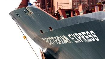 Cargo ship near California pipeline made strange movements: report